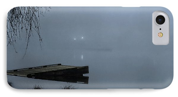 Fog On The Lake IPhone Case by Jeanette C Landstrom