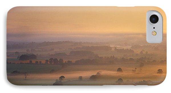Fog Over A Landscape, Blackmore Vale IPhone Case