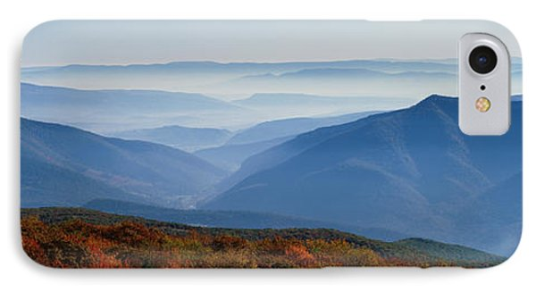 Fog Over Hills, Dolly Sods Wilderness IPhone Case by Panoramic Images