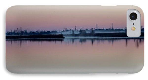 Fog Over The River Phone Case by Cynthia Guinn