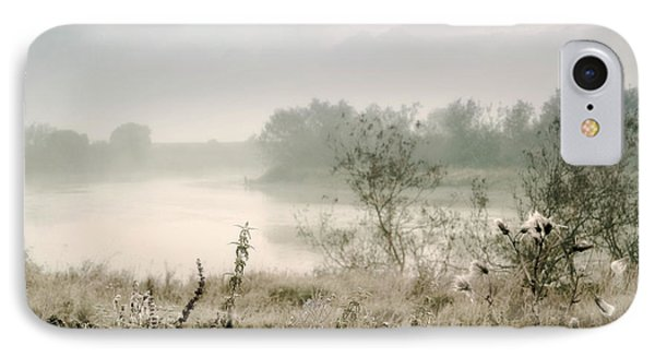 Fog Over The River. Stirling. Scotland Phone Case by Jenny Rainbow