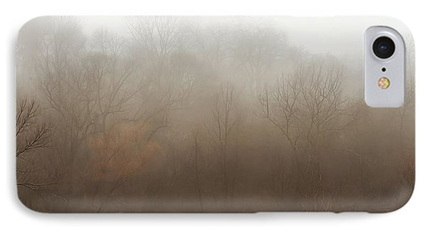 Fog Riverside Park Phone Case by Scott Norris