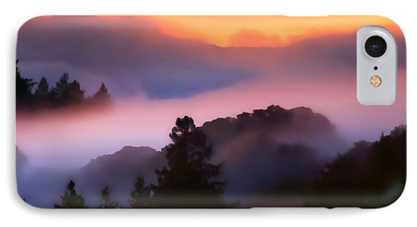 Fog Rolls In From The Ocean IPhone Case by Wernher Krutein