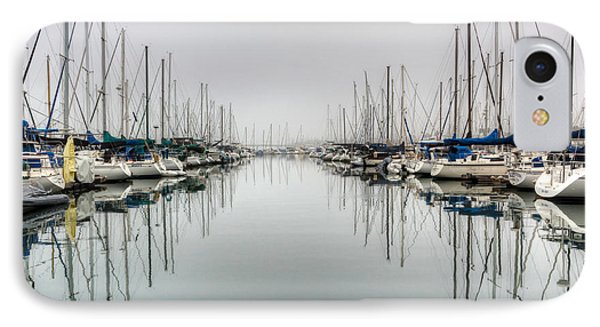 IPhone Case featuring the photograph Foggy Autumn Morning  by Heidi Smith