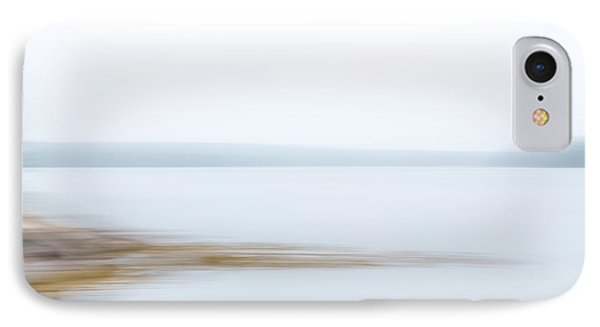 Foggy Bay 1 IPhone Case by Susan Cole Kelly Impressions