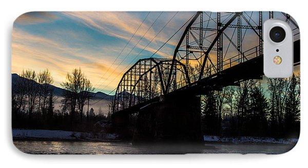 Foggy Bottom Bridge IPhone Case