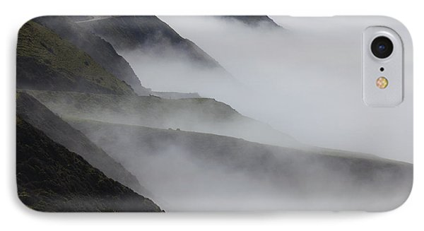 Foggy Coastal Hills IPhone Case