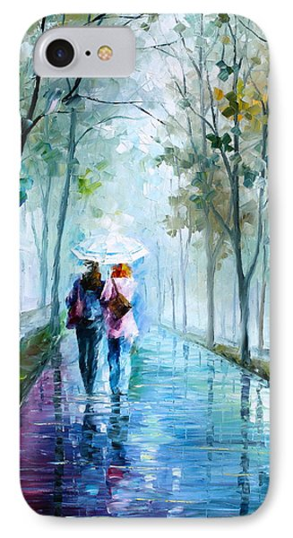 Foggy Day New Phone Case by Leonid Afremov