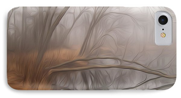 Foggy Fall Morning IPhone Case