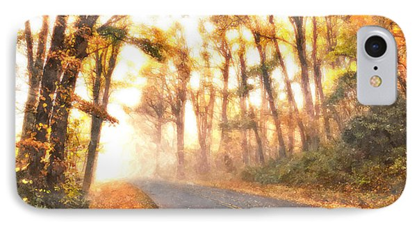 Foggy Fall Wonderland - Blue Ridge Parkway II Phone Case by Dan Carmichael