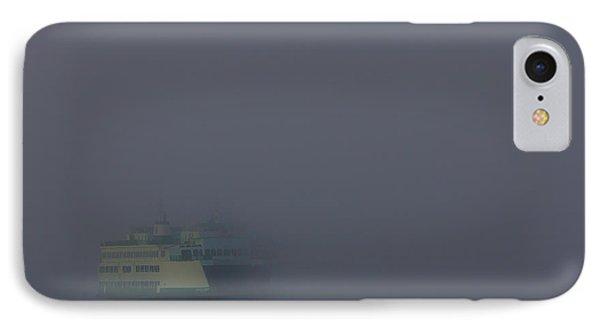 Foggy Ferry Ride IPhone Case