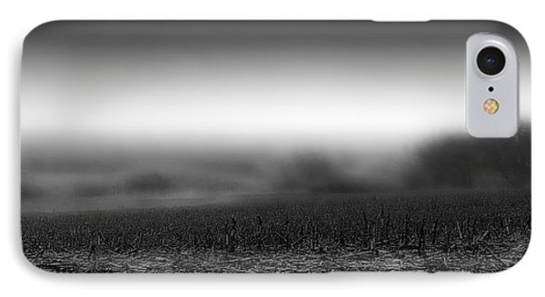 Foggy Field IPhone Case by Tom Gort