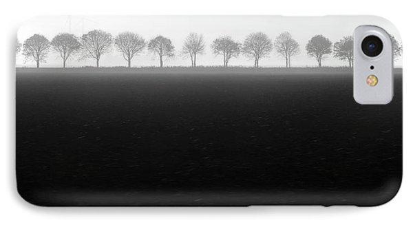 Foggy Flevopolder IPhone Case