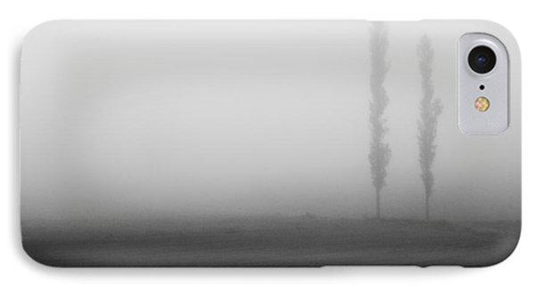 Foggy Landscape IPhone Case by Davorin Mance