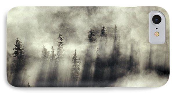 Foggy Landscape Stephens Passage Phone Case by Ron Sanford
