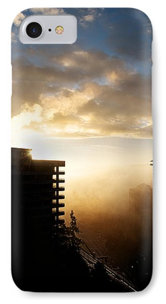 Foggy Morn IPhone Case by Lisa Knechtel