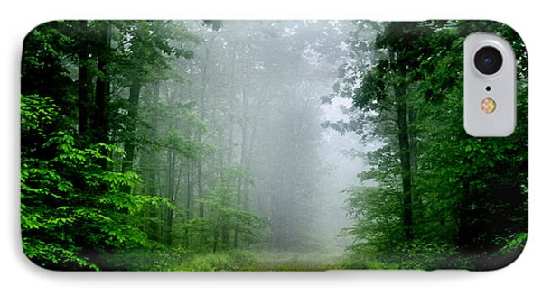 IPhone Case featuring the photograph Foggy Morning by Debra Fedchin