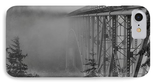 Foggy Morning IPhone Case by Jeff Swanson