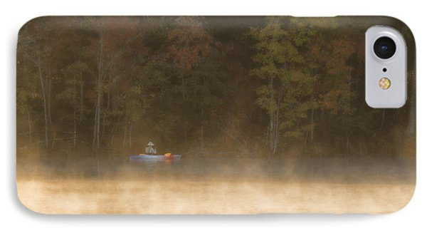 Foggy Morning Kayaking IPhone Case