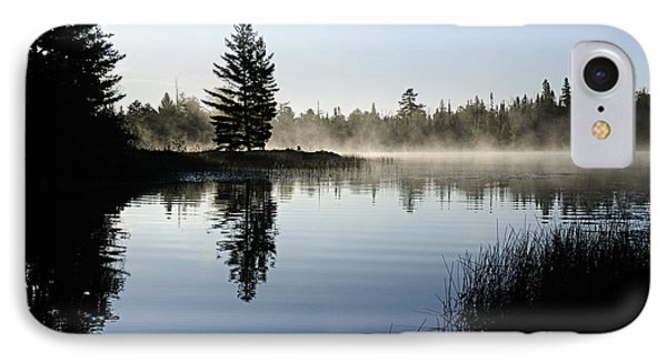 Foggy Morning Phone Case by Larry Ricker