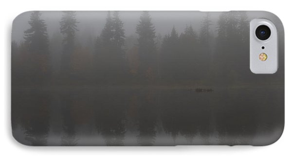Foggy Morning On The Lake IPhone Case