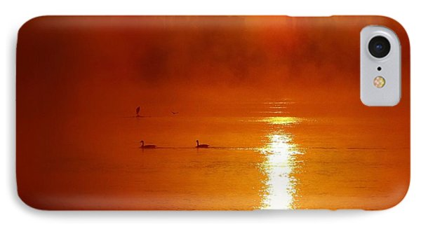 Foggy Morning On The River IPhone Case