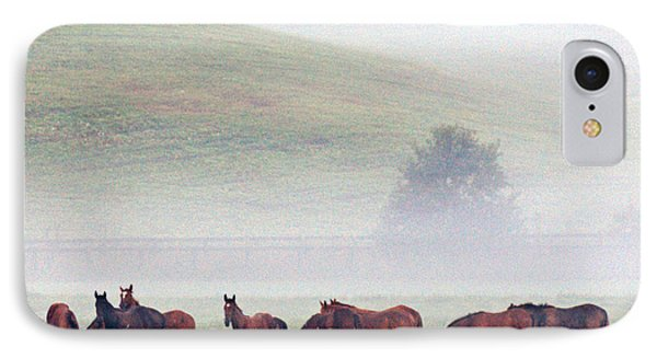 Foggy Morning Phone Case by Roger Potts