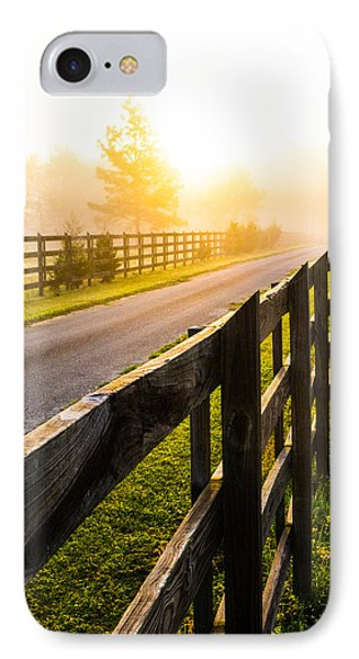 Foggy Morning IPhone Case by Shelby  Young
