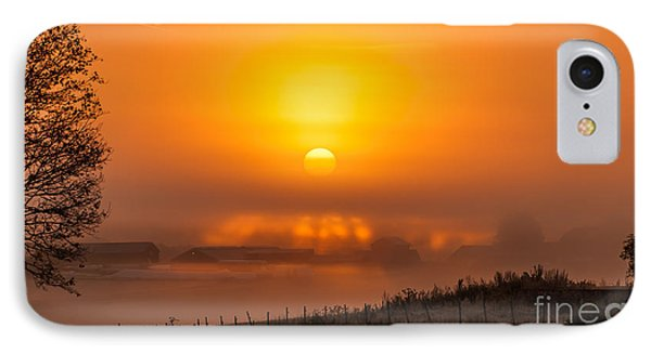 Foggy Morning IPhone Case by Torbjorn Swenelius
