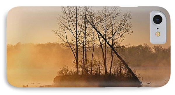 Foggy Ohio Morning IPhone Case