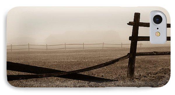 Foggy Pasture IPhone Case