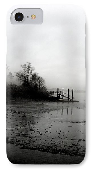 Foggy Pier In January IPhone Case