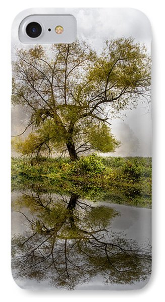 Foggy Reflections IPhone Case