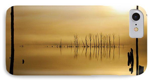 Foggy Rise IPhone Case by Roger Becker