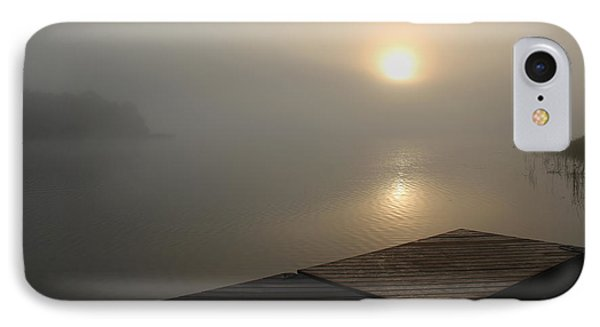 IPhone Case featuring the photograph Foggy Sunrise by Debbie Oppermann