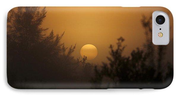Foggy Sunrise IPhone Case by Meg Rousher