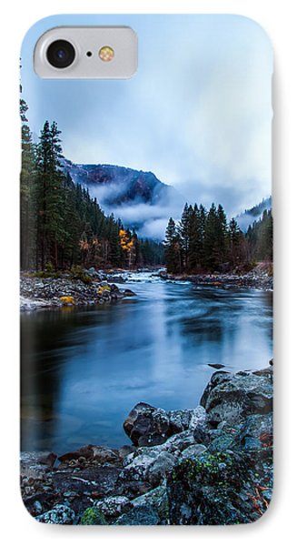 Foggy Sunrise IPhone Case by Steven Lamar