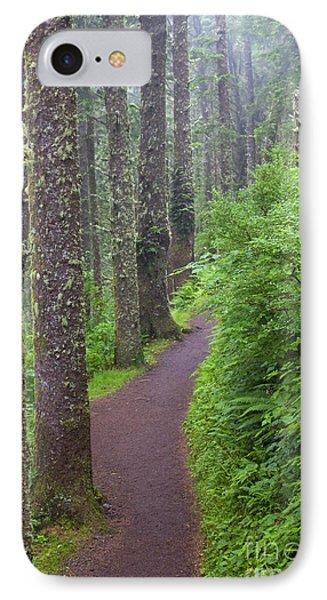 Foggy Trail IPhone Case