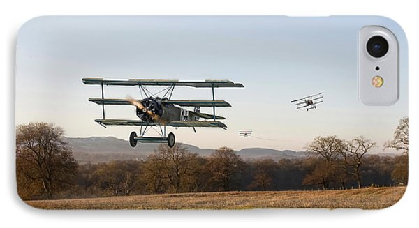 Fokker Dr1 - Day's End IPhone Case