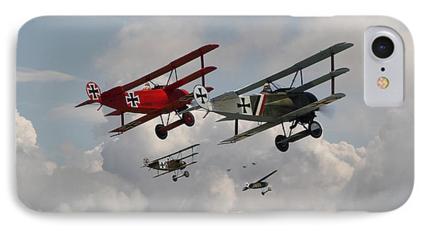 Fokker Squadron - Contact IPhone Case