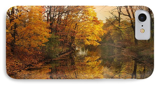 IPhone Case featuring the photograph Foliage Reflected by Jessica Jenney