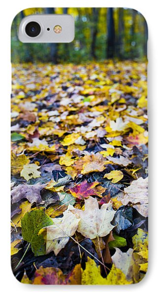 IPhone Case featuring the photograph Foliage by Sebastian Musial