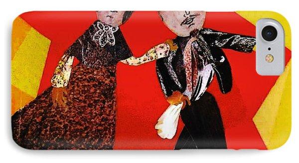 Folk Dancers IPhone Case
