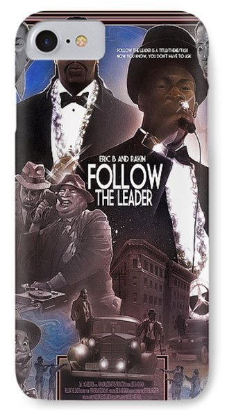 IPhone Case featuring the painting Follow The Leader by Nelson Dedos Garcia