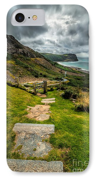 Follow The Path IPhone Case by Adrian Evans