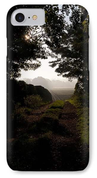 Follow The Path IPhone Case by David Isaacson