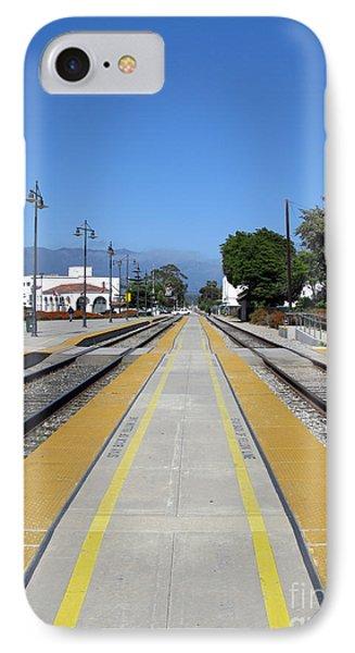 Follow The Yellow Brick Road. Santa Barbara. California. IPhone Case by Ausra Huntington nee Paulauskaite