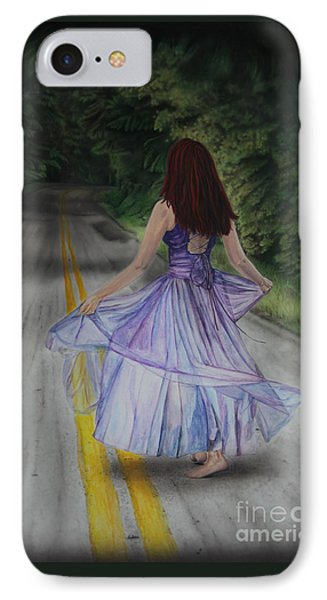 Follow Your Path Phone Case by Jackie Mestrom
