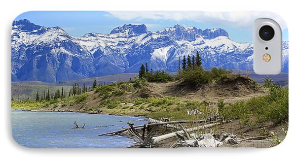 Following The Athabasca River Phone Case by Teresa Zieba