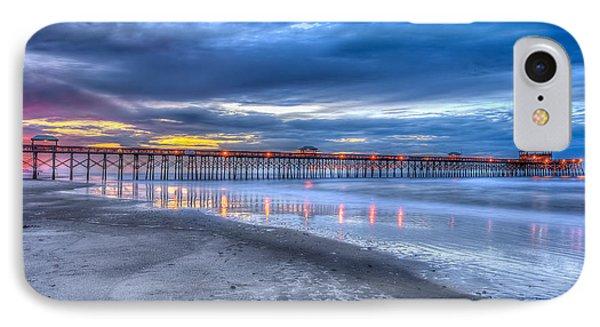 Folly Beach Fishing Pier IPhone Case